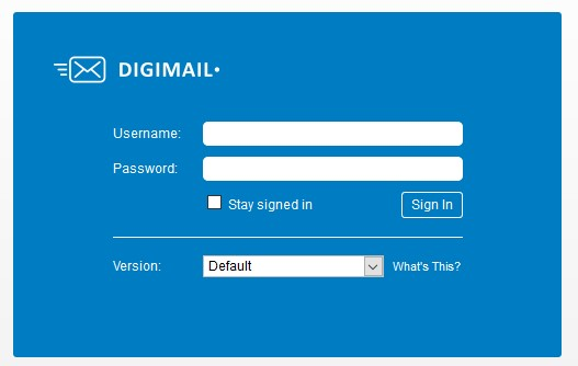 digi mail password forget